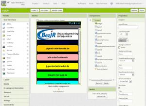 Screenshot Appinvnetor2